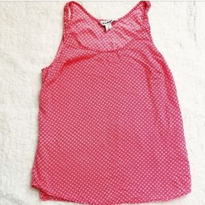 6/$20 old navy size small red tank